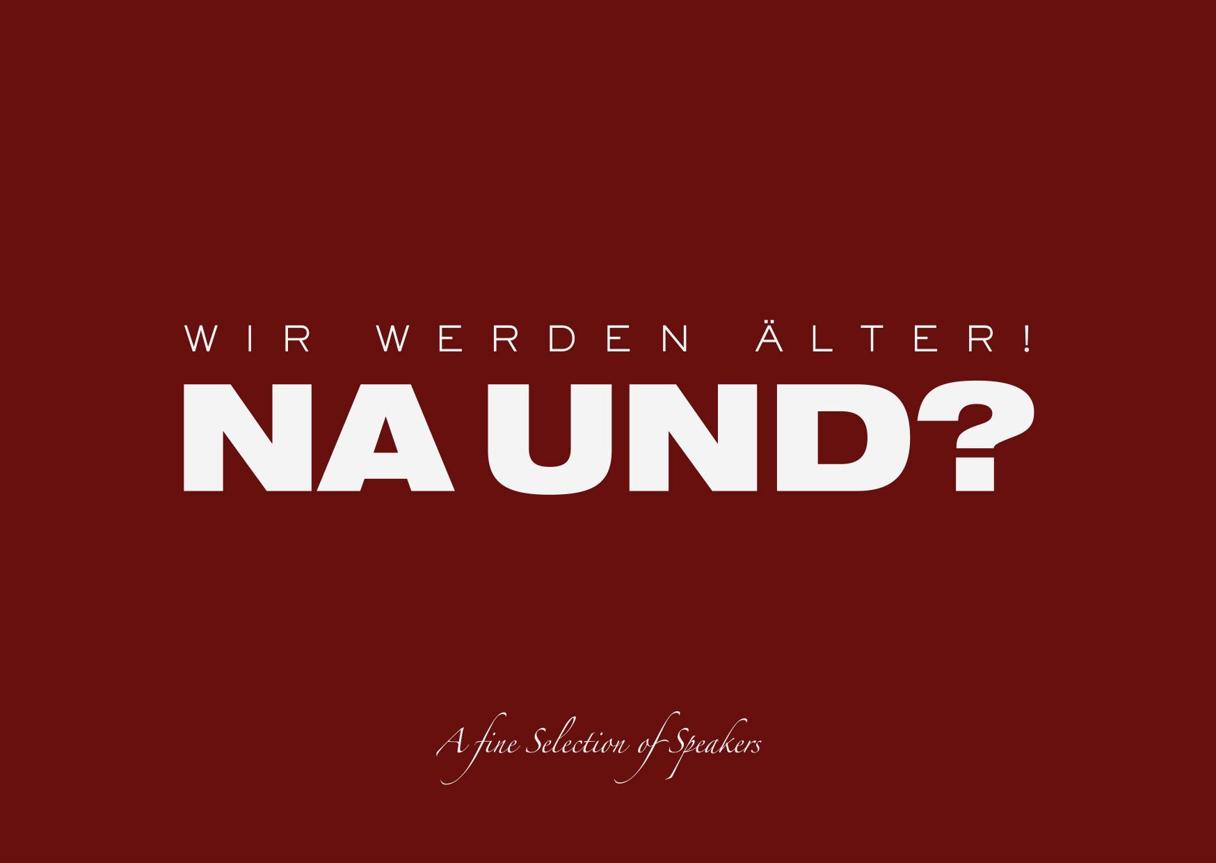 Helmut Muthers: Wir werden Älter! Na und?